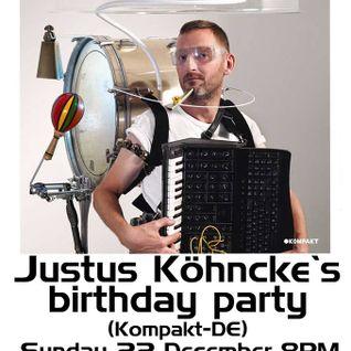 Justus Kohncke Birthday Party vs Dizzy Jee @ Le Belgica - 22-Dec-2013 - Part 02