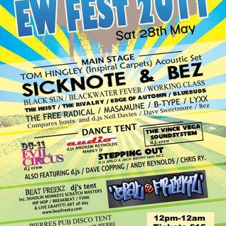 CaRdIaC Live set! EW Fest 28/05/11