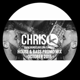 CHRIS K OCTOBER HOUSE & BASS PROMO MIX