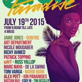 wAFF - live at Paradise, ElRow, Barcelona - 19-Jul-2015