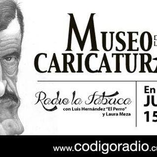 Radio la Fábrica entrevista a Maral del Museo de la Caricatura programa transmitido el día 13 de oct