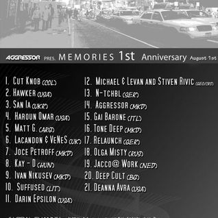 Suffused - Memories 1-Year Anniversary on Pure.FM
