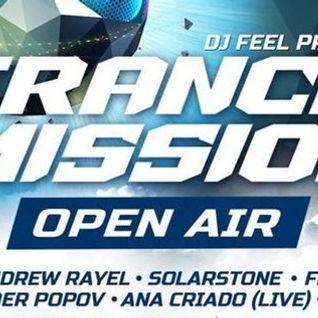 DJ Feel - Live @ Trancemission, Vozduh Club (St.Petersburg) - 04.07.2014