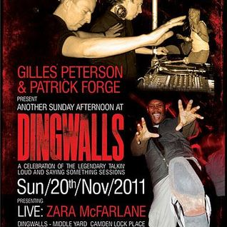 Jazz Chronicles Hectic Hour 1111 - Thinking about Another Afternoon at Dingwalls