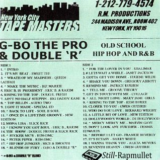 G-Bo The Pro & Double R - Old School Hip Hop and R&B - Side A