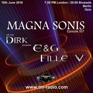 Dirk - Host Mix - MAGNA SONIS 007 (15th June 2016) on TM-Radio