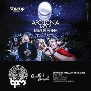 Apollonia @ Thump presents Apollonia, Canibal Royal - 16 January 2016