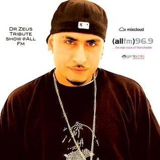 Dr Zues Tribute Show live @ All Fm with Gorilla Chilla & Dj Rav every Thursday 1- 2 pm 4/5/12