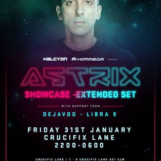 Libra9 - Halcyon IV - promo for 31/1/14 with Astrix!