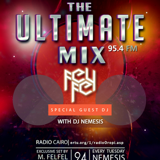 Nemesis - The Ultimate Mix Radio Show (044) 24/11/2015 (Guest M. Felfel)