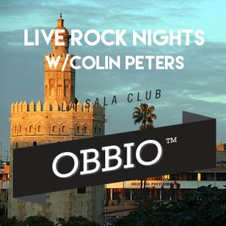 Live Rock Nights w/Colin Peters @ OBBIO ( Sevilla )