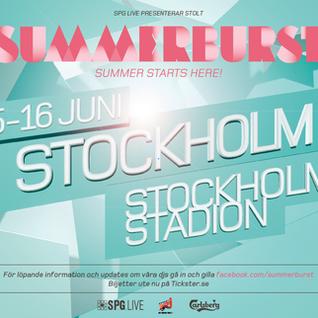 Axwell,David Guetta,Sebastian Ingrosso,Alesso,Tiesto,Ida Engberg,Calvin Harris@ Summerburst Festival