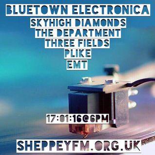 Bluetown Electronica live show 17.01.16