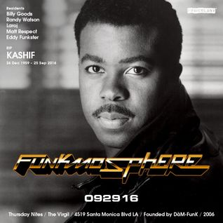 Funkmosphere - In the Mix - September 29, 2016:  Tribute to Kashif