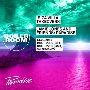 Jamie Jones - Live @ Paradise, Ibiza Villa Takeovers - 13.08.2013