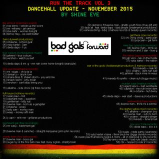 run the track vol 3... dancehall update november 2015