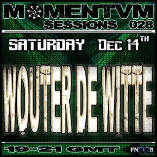Momentvm Sessions with Wouter de Witte - 2013-12-14