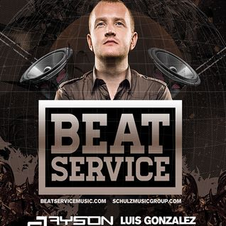 Au Entertainment presents Beat Service @ Lizard Lounge 8.10.13 (Luis Gonzalez Set)