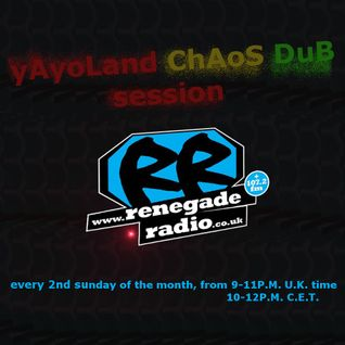 "P3rfectdrug Selector  ""yAyoLand chAos Dub Session"" Radio Renegade live set 10.04.2016"