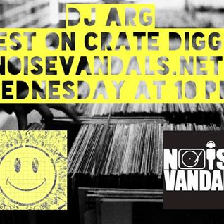 DJ ARG special Guest on Crate digger noisevandals.net show 17