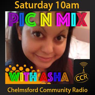 Pic n Mix - @AshaCCR - Asha Jhummu - 04/04/15 - Chelmsford Community Radio