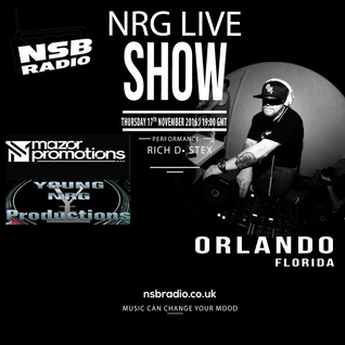 NRG Live Show - NSBRadio - 17th Nov 16- Rich D And Stex