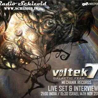 Voltek 7 - Live on Radio Schizoid - Nov 2013