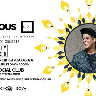 Richy Ahmed @ Vicious Live, Sala Goya Social Club Madrid - 14 April 2016