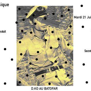 Le fête de la musique de D.KO Records au Batofar