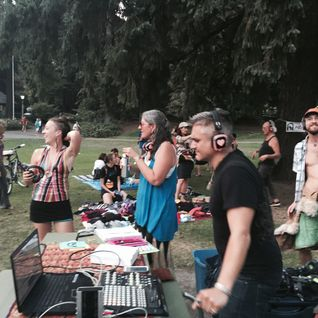 Meta Zen at Heartbeat Silent Disco - Laurelman [8.23.2015]