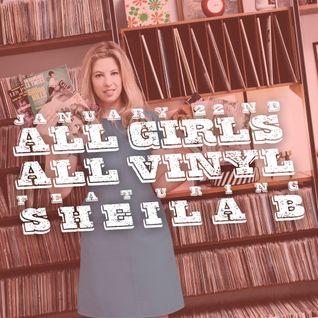 Sheila B - All Girls All Vinyl - Dust & Grooves Residency @ Donna