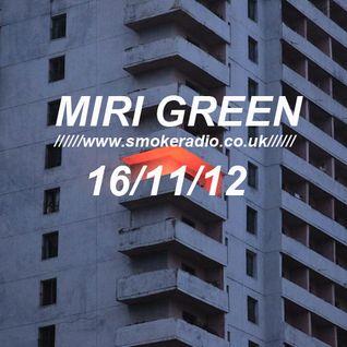 MIRI GREEN 16/11/2012