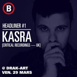 Bassodrome Festival 2.5 Promo Mix #1 : Sounds Of Kasra
