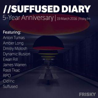 FRISKY | Suffused Diary 062 (5-Year anniversary) - Ewan Rill