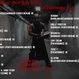 Dj Scr3am Live @ Big B-Day Massacre
