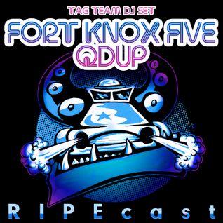 RIPEcast w/ Fort Knox Five & Qdup - Old School Breaks Tribute to JonH
