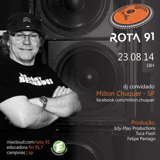 Rota 91 - 23/08/14 - Educadora FM 91,7