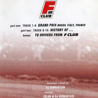 DERBASTLER Easy Live Mix (for Formula Club Grand Prix) 2003 CD- Rare Side B