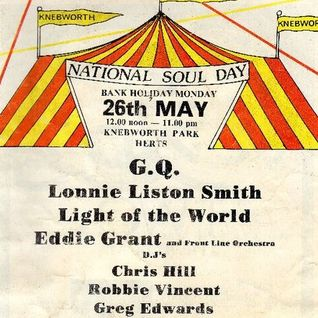 Froggy Live at National Soul Day Knebworth Monday 26th May 1980