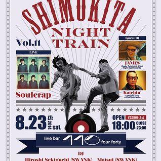 Live at 440 SHIMOKITA NIGHT TRAIN August 2014