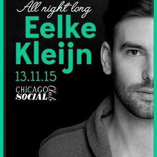 Eelke Kleijn - Live @ Chicago Social Club (Amsterdam) - 13.11.2015
