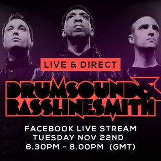 Drumsound & Bassline Smith - Live & Direct #13 [22-11-16]