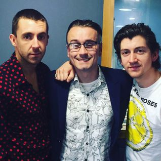 The Last Shadow Puppets co-host with Pete Donaldson