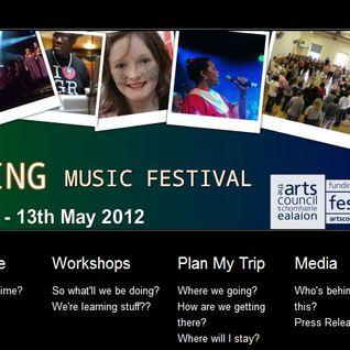 Gospel Rising Radio Program on UCB Ireland 8th June 2012
