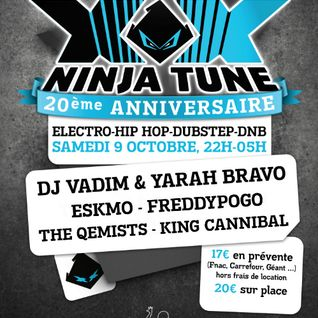 Djset Live@ NINJATUNE XX PARTY (Lyon, France: 9-10-2010)