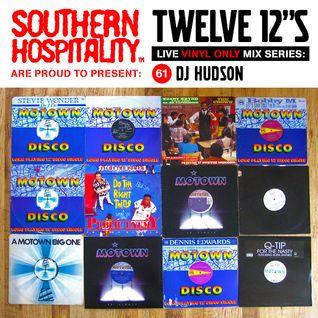 Twelve 12's Live Vinyl Mix: 61 - DJ Hudson - Motown Special!