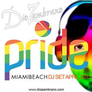 Dio Zambrano - Miami Beach Pride (April 2013)