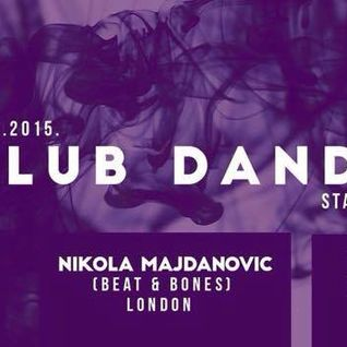 Nikola Majdanovic @ Club Dandy, Novi Sad, 16.01.2015