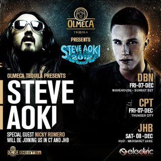 Jaksta - Olmeca Tequila Steve Aoki SA Tour Competition Mix {Dubstep}