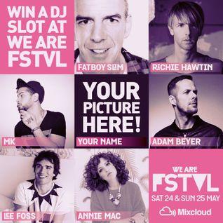 We Are FSTVL 2014 DJ Competition